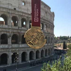 Rome Marathon Medal 2017